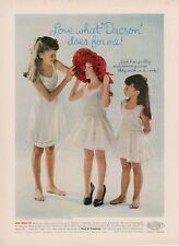 1962 Her Mejesty Young Girls Dress Up -  Children Clothing PRINT AD