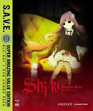 Shiki Corpse Demon Death Spirit (BluRray/DVD Combo) Complete Anime Series NEW!