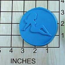 Mudflap Girl Fondant Cookie Cutter AND Stamp #1643