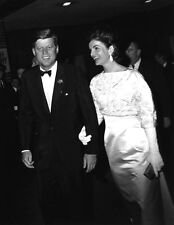 John F.Kennedy -  John & Jackie out at an event.