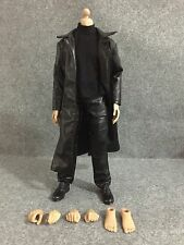 FT114 1/6 Action Figure Body with Black Long Coat Full Set for HOT TOYS