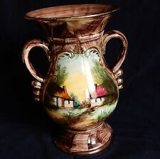 *Grand vase (BEQUET QUAREGNON MADE IN BELGIUM) Belgique