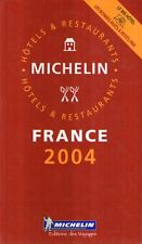 MU7 Guide Michelin France 2004 Hotels Restaurant