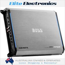 BOSS AUDIO RGD3400 RAGE CLASS D MONO BLOCK 1-CHANNEL 3400W AMPLIFIER MONOBLOCK