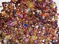Sapphire ruby spinel + gem rough mix Madagascar small pieces 1/4 pound lots