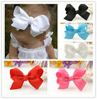 Baby Girl Grosgrain Ribbon Bow Hair Clip Pin Cute alligator Clips Lovely Gift