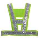 Hi Viz High Visibility Reflective Safety Security Vests Coat Gear Stripes Jacket