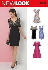 NEW LOOK SEWING PATTERN MISSSES' DRESS SIZE 10 - 22 6410