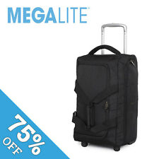 "IT Luggage Cabin Size Trolley Bag All Airlines 19.5"" Megalite Black"