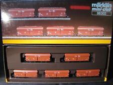 Märklin 86302 schüttgutwagen-set mineral III – 5 vagones nuevo con embalaje original x07-063