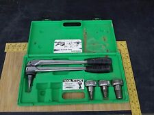 "UPONOR WIRSBO PEX TUBING TUBE EXPANDER EXPANDING TOOL 1/2"" 3/4"" AND 1"" HEADS"