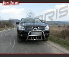 NISSAN QASHQAI 2007-2009, BULL BAR, NUDGE BAR, A BAR + GRATIS! STAINLESS STEEL