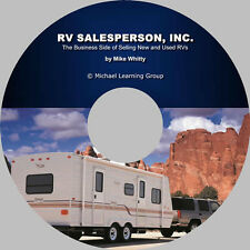 RV Sales Training - Business Side of Selling RVs eBook on CD