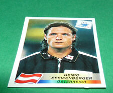 N°151 PFEIFENBERGER ÖSTERREICH PANINI FOOTBALL FRANCE 98 1998 COUPE MONDE WM