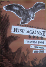Rise Against - Tsunami Bomb - Alexisonfire - Only Crime Poster [2006] - NM