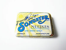 Grammophon NADELDOSE SONGSTER NEEDLES - gramophone needle tin