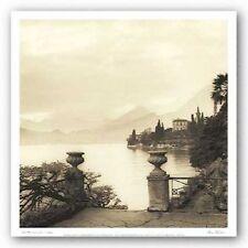 ART PRINT Villa Monastero Lago di Como Alan Blaustein 12x12 Image Conscious