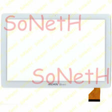 "Touch Screen Archos 101b XS 2 VETRO Vetro Digitizer 10,1"" Bianco"