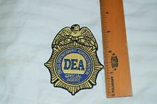 DEA  Patch  *****FREE SHIPPING*******!!!!!!