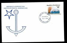 Dominican Republic 1989 Battle Of Tortuguero FDC #C5517