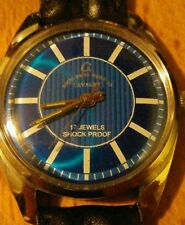 VINTAGE ANGLO-SWISS MENS WATCH. PARASHOCK. 17 JEWEL. PROFESSIONALLY REFURBISHED.