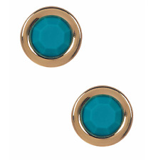 NEW Marc by Marc Jacobs 'All Tied Up' Rubber Round Stud Earrings Wintergreen $42