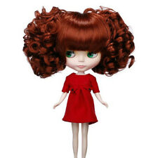 Blythe Accessory Doll Wig  9.5-11Inch 25-28cm Japan Original B-101 Rusty Red