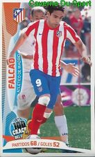 030 FALCAO COLOMBIA ATLETICO STICKER 100 CRACKS DEL JUGON 2005-2014 PANINI