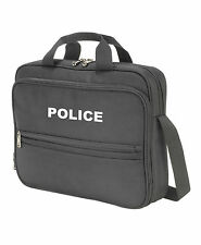 1 x POLICE Branded Black Laptop/Document Bag, PCSO, 999, Emergency Services