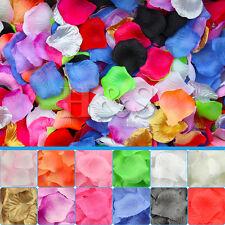 500x TOP QUALITY seta petali di rosa matrimonio fiore confetti decorazione tavola delle feste