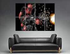 DEADPOOL 02 COMICS SUPER HEROS  Wall Poster Grand format A0  Print