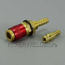 1 set Gas & water Quick Connector Fitting  For Tig Welder / Torch
