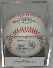 GAME USED All Star HR Baseball HOME RUN DERBY Corey Hart Milwaukee Brewers 2010