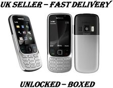 NOKIA 6303 C CLASSIC NEW CONDITION SILVER BLACK UNLOCKED PHONE -BLUETOOTH 3.2 MP