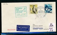 95691) LH FF München - Casablanca 13.5.71, Brief ab Berlin