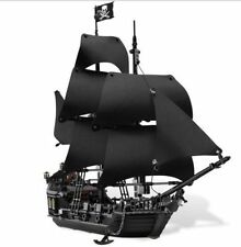Pirates of Caribbean, Black Pearl, custom brick set for Lego 4184