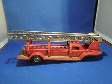 Vintage Die Cast SFD Toy Firetruck Back Attachment Red Fire Fighter Toy
