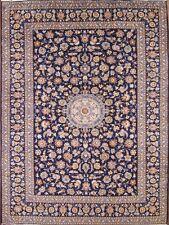 "Outstanding Kashan 10x13 Persian Area Rug Wool Oriental Carpet 13' 1"" x 9' 8"""