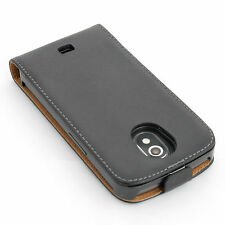 Caso telefono cellulare per Samsung Galaxy i9250 nexus nero flip Custodia sleeve Custodia/cover