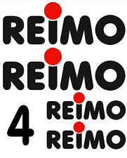 REIMO STICKERS DECALS VW CAMPER VWT25 T4 T5 (2x195x67) (2x150x51)