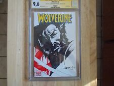 WOLVERINE #1 CGC 9.6 - EXCLUSIVE DETAILED WRAP-ARND-ART BY JIMBO SALGADO