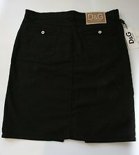 Dolce & Gabbana Womens Black Skirt Size 16 D&G Designer Skirt NWT Gift for Her