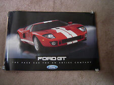 "2005-2006 FORD GT/GT40 NEW OLD STOCK TWO SIDED DEALER POSTER, 36"" X 24""!"