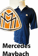 Mercedes Maybach L Large blue polo shirt patch embroidered benz 57 62 guard