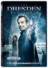 The Dresden Files - Season 1 dvd 2007, 3-Disc Set