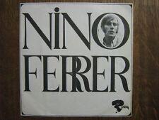NINO FERRER 45 TOURS FRANCE PROMO MAO ET MOA