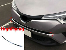 For Toyota C-HR 2016 2017 1pcs Chrome front center grille grill strip trim