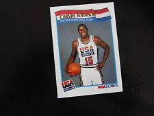 Magic Johnson 1991-1992 NBA Hoops #578 Dream Team USA LA Lakers / Michigan State