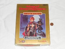 NEW Advanced Dungeons & Dragons CURSE OF THE AZURE BONDS PC 1995 Computer 3.5""
