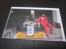 37749 Helga Heinrich Motorsport original signierte Autogrammkarte